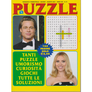 Puzzle - n. 51 - trimestrale -giugno - agosto 2021- 164 pagine