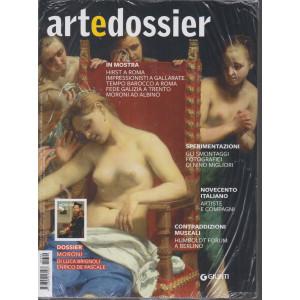Art e dossier -n. 390 -    mensile -settembre 2021 + Moroni- 2 riviste