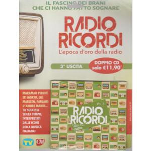 Cd Sorrisi Canzoni -n. 6-   Radio Ricordi - terza  uscita - doppio cd -  5/2/2021- settimanale