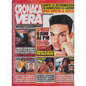 N.Cronaca Vera - n. 2531- 2 marzo  2021- settimanale di fatti  e attualità