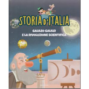 Storia d'Italia -Galileo Galilei e la rivoluzione scientifica  - n. 30 -9/3/2021 - settimanale - copertina rigida