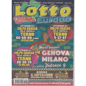 Lotto Europa - n. 3 - mensile - marzo  2021