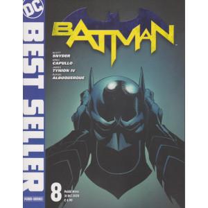 DC Best seller - Batman - n. 8 - mensile - 31  dicembre 2020