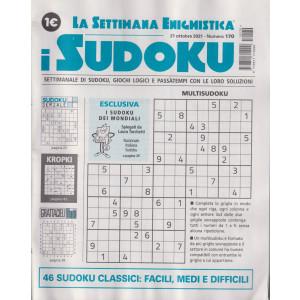 La settimana enigmistica - i sudoku - n. 170 - 21 ottobre 2021 - settimanale