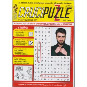 Crucipuzzle - n. 559 - gennaio 2021- mensile