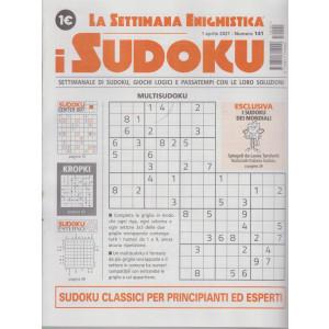La settimana enigmistica - i sudoku - n. 141 - 1 aprile    2021 - settimanale