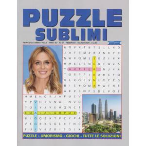 Puzzle sublimi - n. 67 - bimestrale -febbraio - marzo 2021