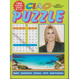 Ciao Puzzle - n. 375 -agosto    2021 - 100 pagine