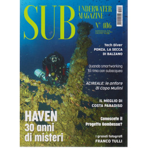 Sub underwater magazine - n. 406 - bimestrale - 5 maggio 2021