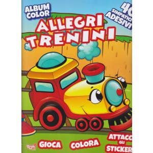 Toys2 Serie Oro - Album color -  Allegri trenini - n. 48 - bimestrale - 22 aprile 2021