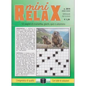 Mini Relax - n. 2014 - settimanale - 29/12/2020 -