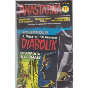Diabolik + Anastatika - n. 11  del 1963 - Trappola infernale  - settimanale -