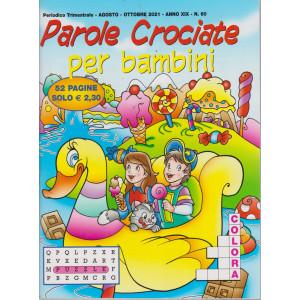Parole Crociate per bambini - n. 60 - trimestrale -agosto - ottobre  2021- 52 pagine