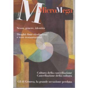 Micromega - n. 4 - 15/7/2021 - bimestrale -