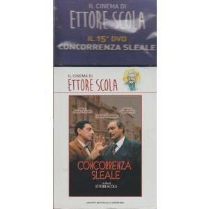IL CINEMA DI ETTORE SCOLA. IL 15° DVD . CONCORRENZA SLEALE. CON DIEGO ABATANTUONO, GERARD DEPARDIEU E SERGIO CASTELLITTO.