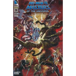 He-Man and the Masters of the Universe 25 - DC Comics Lion