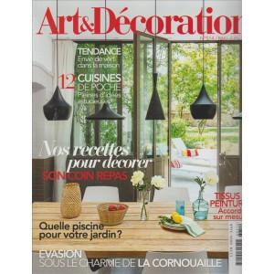 ART & DECORATION. N. 514. MAGGIO/GIUGNO 2016. IN FRANCESE.
