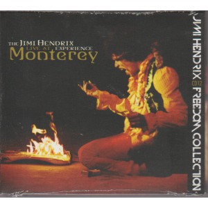 JIMI HENDRIX.  LIVE AT EXPERIENCE MONTEREY. N. 12.