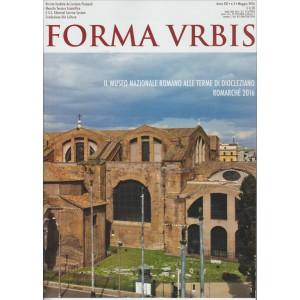 FORMA URBIS. N. 5. MAGGIO 2016.