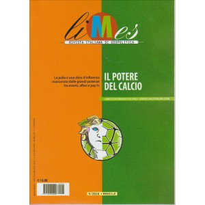 LIMES. RIVISTA ITALIANA DI GEOPOLITICA. N. 5. 2016.  IL POTERE DEL CALCIO.