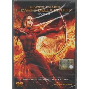 """DVD Hunger Games-Il Canto Della Rivolta-Parte 2 """"niente può prepararti alla tua fine"""""""