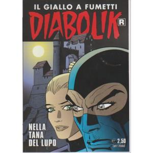 IL GIALLO A FUMETTI. DIABOLIK. NELLA TANA DEL LUPO. N. 660.  17 GIUGNO 2016.