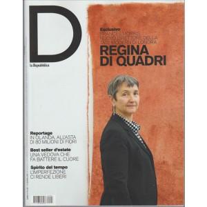"D DONNA - settimanale de la Repubblica n. 982 - 11 Giugno 2016 ""Frances Morris"""