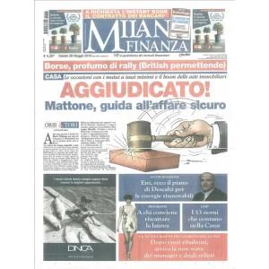 Milano Finanza - settimanale di Sabato 28 Maggio 2016