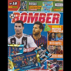 Panini Football Magazine - Bomber n. 18 - mensile - 15 novembre 2018 + Le grandi raccolte per la gioventù - Official stiker album 2019