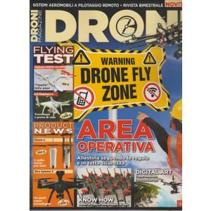 DRONI MAGAZINE. N. 7. BIMESTRALE. GIUGNO/LUGLIO 2016.