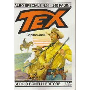 TEX. CAPITAN JACK. ALBO SPECIALE N. 31. 240 PAGINE. ANNUALE.