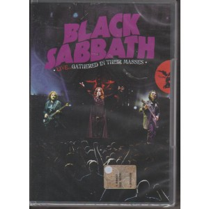 BLACK SABBATH. LIVE... GATHERED IN THEIR MASSES.