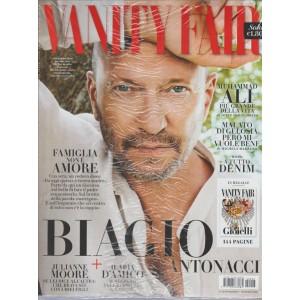 "VANITY FAIR - settimanale n. 23 - 15 Giugno 2016 ""Biagio Antonacci"""