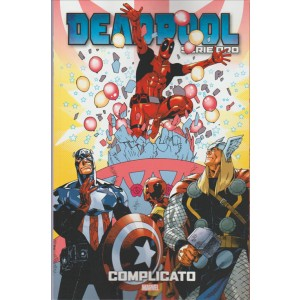 """DEADPOOL Serie oro vol. 20 """"Complicato"""" by Tuttosport"""