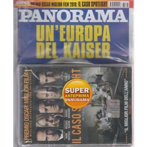 PANORAMA. N. 27.  GIORNALE + DVD  IL CASO SPOTLIGHT.  PREMIO OSCAR MIGLIOR FILM E MIGLIORE SCENEGGIATURA ORIGINALE