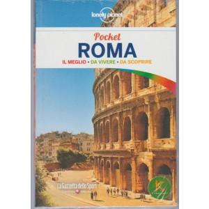 Guida Lonely Planet pocket - ROMA  by Gazzetta dello Sport