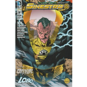 Lanterna Verde Presenta: Sinestro 19 - DC Comics lion