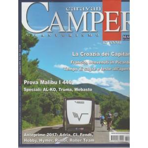 CARAVAN CAMPER GRANTURISMO 42° ANNO.  N. 478. LUGLIO/AGOSTO 2016.