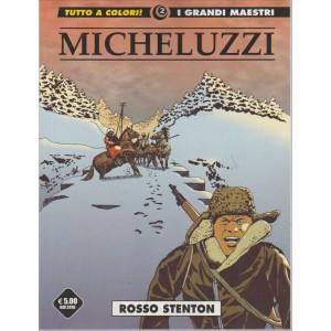 MICHELUZZI. N. 2. ROSSO STENTON. I GRANDI MAESTRI. TUTTO A COLORI!
