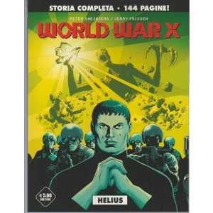 Cosmo Serie Nera vol. 21 - World War X - HELIUS storia completa di 144 pagine