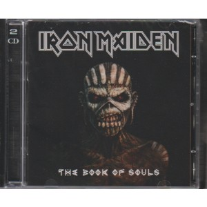 IRON MAIDEN. THE BOOK OF SOULS.  DOPPIO CD.