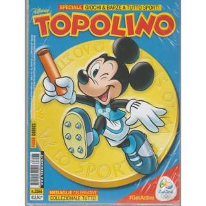 Topolino Disney - settimanale n. 3166 del 2 Agosto 2016 - No gadget
