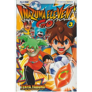 Manga: Inazuma Eleven Go 003 collana SHI - J-pop editore