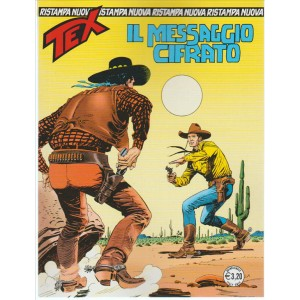 Tex Nuova Ristampa - Il Messaggio Cifrato n. 405 Agosto 2016