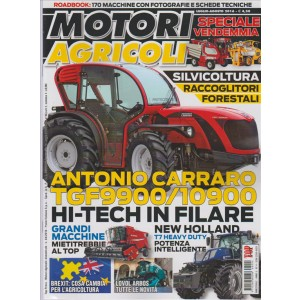 MOTORI AGRICOLI - Bimestrale n. 4 - Agosto / Settembre 2016