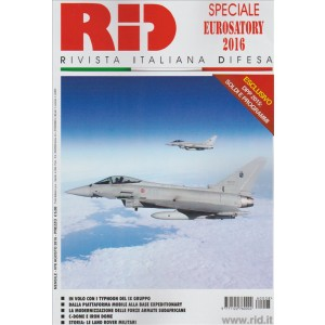 RID Rivista Italiana Difesa - mensile n. 8 Agosto 2016