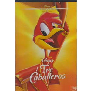 DVD Disney: I Tre Caballeros - Colleaione I CLASSICI Disney vol. 7