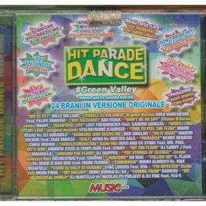 CD Audio HIT PARADE DANCE  #Green Valley mix by Mauro Miclini