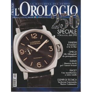 L'OROLOGIO. N. 250. AGOSTO/SETTEMBRE 2016.