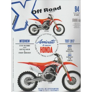 X OFF ROAD. N. 94. SETTEMBRE 2016.  MENSILE.